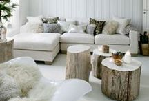 Winter & Holiday Decor / Winter Holiday Decorating Ideas and Inspiration.