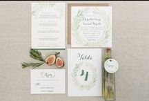 P+T Wedding | inspiration / Wedding planning for tuscan/organic themed client by Katie Rebecca Events www.katierebecca.com