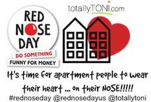 Red Nose Day for Apartment People / It's time for GREAT Apartment PR and Red Nose Day is the perfect opportunity! Join me in having fun to raise money to support children around the world!!!