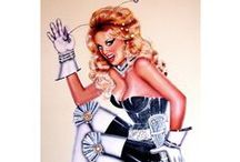 Original Pinup Artwork For Sale / by iDraw Pinups