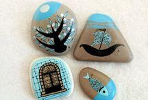 Pittura su pietra / Pietre dipinte