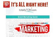 Event Marketing Guide Multi-Media Marketing / This guide provides information, tips, and best practices for every aspect of planning and multi-media marketing events. Use it as a workbook – take notes, highlight what you find inspirational, share what you learn with your colleagues and start driving measurable results from your event marketing.