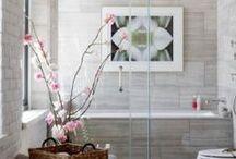 Banheiros e Lavabos / Banheiros e lavabos modernos para quem adora decorar