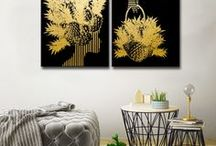 Black & Gold / An expression of your inner affinity for all that is gold