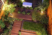 Jardines, patios balcones  y terrazas / #garden, #curbappeal, #jardines, #decks, #terrazas, #patios, #outdoorliving, #Balconies