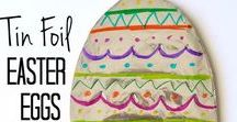 Eggs / Sunday School crafts, activities, lessons, games and snacks to help teach about Easter egg traditions.