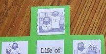 Jesus / Sunday School crafts, activities, lessons, games and snacks to help teach about Jesus.