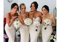 Flower Girls, Bridesmaids & Page Boys / A collection of styling ideas, be it hair, outfits or accessories