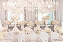 Room Decor To Wow! / Creative inspiration to decorate or theme your wedding reception...guaranteed to wow your guests!