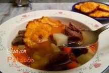 Sopas y Cremas / recetas para dos
