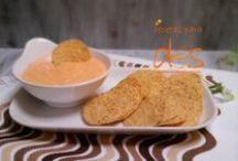 salsas, dips / recetas para dos