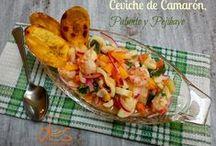 Pescados y Mariscos / recetas para dos