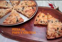 Pizzas / recetas para dos