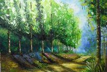 _Minhas pinturas em tela / Pintura óleo sobre tela