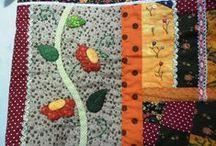 _Meus trabalhos em tecido / Patchwork, tecidos, artesanato