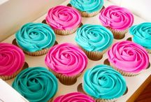 Color - Turquoise and pink