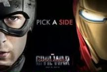 Captain America 3 - Civil War / Meme's, pictures on the set