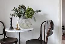 Small Spaces / Home decor for the tiny apartment.