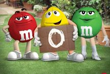 M&M (you get in the bowl)
