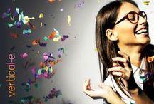 Lunettes Vertical-e / Collection colorée et surprenante pour les femmes dynamiques et folles de tendances ! Ou comment adapter son look en fonction de ses humeurs et de ses envies...  collection EyesLabel, montures Lunettes Optique Vertical-e  (mots clés lunettes montures vertical verticale verticales etc...)