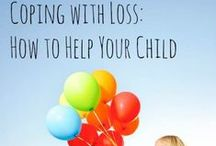 Children and Grief / Discussing loss can be a difficult job for parents.  Many times we are in the thick of grief ourselves so comforting others can be a challenging during this process.  Here are a couple activities and books to help us and our children navigate these seasons in our life.
