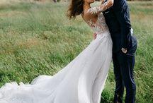 || Wedding Dress || / Long sleeve illusion lace <3