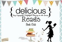 Book Club {delicious reads} / Book Club, Books, Reading and eating delicious food!