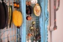 Craft display ideas and stuff / Cool ideas for presenting your jewelry / by Patti Underwood