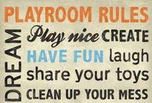 Playroom Idea's!! / by Brook Kerry