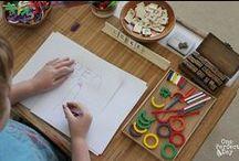 Literacy: Explorations  / Literacy explorations for pre-readers and preschoolers