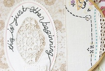 Embroidery ♥ running stitch  / by Nicole Bautz