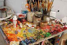 Ateliers/Art Studios / Atelier/Art Studio Inspiration