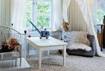 Kids' Bedrooms / Beautiful vintage inspired bedrooms for my son and daughter.