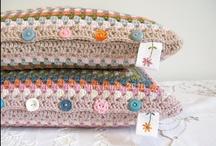 Crochet ♥ pillows ♥ Häkelkissen / by Nicole Bautz