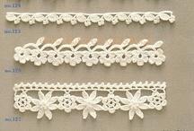 Crochet ♥ edging ♥  Häkelränder / by Nicole Bautz