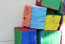 Block Play / Block play and construction inspired by the Reggio Emilia Approach