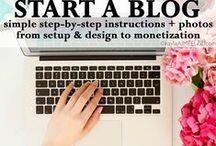 Blog Tips / Tips for starting a blog, making money from your blog, and all things blog.