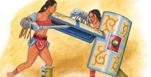 Gladiatrix / The gladiatrix (plural gladiatrices) is a term for the female equivalent of the gladiator. Like their male counterparts, female gladiators fought each other, or wild animals, to entertain audiences at various games and festivals.