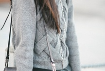 Sweaters / In love with sweaters--long, short, cardigans, thin, bulky, sleeveless..,all of them!!! / by Gail Manna