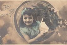 ANTIQUE/VINTAGE POST CARDS / My antique postcard collection