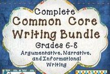 Common Core Reading and Writing / Common Core ELA ideas and resources are right here for you to explore. If you are an English or reading teacher, you'll definitely want to take a look!