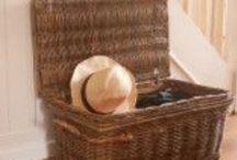 Wicker Storage Baskets / baskets around your home!