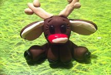 Fimo klei Kerst / Eigen werk