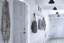 Hallway | Flur / Inspiration for the hallway