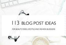 Blogging / All about blogging