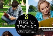 Nonfiction Ideas and Resources / Wonderful nonfiction sources, titles, and accountability ideas for upper elementary and middle school students.