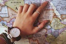 Traveling / I wanna travel the world