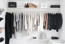 Wardrobe | Ankleide | Closet / Wardrobe ideas