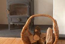 Lovely Log Baskets