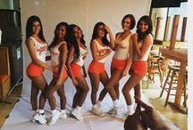 Detrás de cámaras sesión Hooters de México 2015 / Chicas Hooters de sucursales de México y Área Metropolitana, posan en la sesión fotográfica 2015.  Fotos Detrás de Cámaras Gez D. y Chicas Hooters.